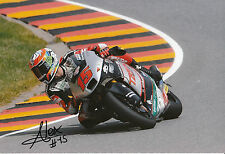 Alex De Angelis Hand Signed 2014 Moto2 Tasca Racing Suter 12x8 Photo 6.
