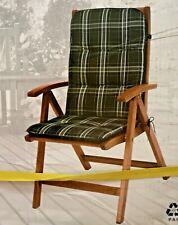 2er SET Gartenstühle Hochlehner Holz inklusive Polster in Originalverpackung