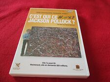 "DVD ""C'EST QUI CE JACKSON POLLOCK?"" documentaire de Harry MOSES"