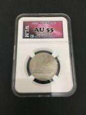 (JC) 50 (fifty) sen 1971 Malaysia Parliament coin Semi-keydate - AUNC (AU55)