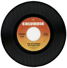 """THE DYNAMICS  """"WE FOUND LOVE c/w YOU CAN MAKE IT IF YOU TRY""""  70's SOUL"""