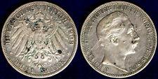 3 Mark 1909 A Germania German States Prussia MB/F #2392
