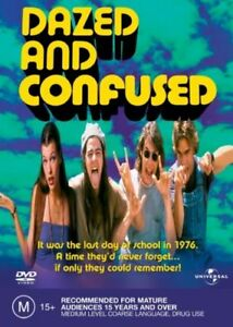 Dazed And Confused DVD REGION 4 AUSTRALIAN RELEASE NEW AND SEALED