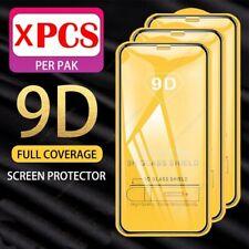 2 Pellicola VETRO Temperato Per Apple iPhone 12/11/X/Xs/XR/PRO/MAX 9D TOTALE