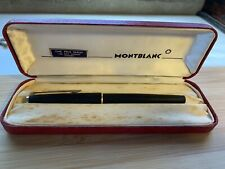 Vintage Mont Blanc 220 Fountain Pen In Original Box