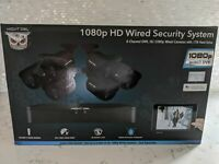 BRAND NEW Night Owl 1080p HD 6 Camera Wired Security System Indoor/Outdoor