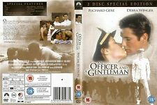 AN OFFICER AND A GENTLEMAN .2 Disc Special Edition. Region 2 DVD  RICHARD GERE.