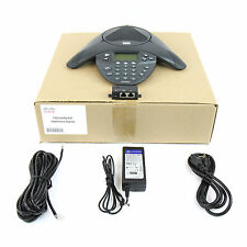 Cisco 7936 IP VoIP Conference Phone Station w/ Power Kit CP-7936- Lot Refurb
