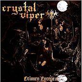 Crystal Viper - Crimen Excepta CD (Polish Heavy Metal)