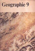 DDR Lehrbuch Geographie für Klasse 9/Verlag Volk und Wissen Berlin 1990