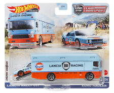 Lancia Rally 037 + Euro Hauler Team Transport 1:64 Hot Wheels GRK49 FLF56