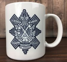Royal Highland Regiment Of Canada The Black Watch White Coffee Mug Cup Crest