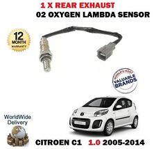 PER CITROEN C1 1.0 2005> post. INFERIORE post. CAT SCARICO O2 SONDA LAMBDA
