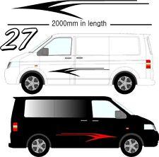 Grafica Decalcomanie Autoadesivo In Vinile Adesivi Ognuna Veicolo VW Camper D27