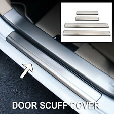 Outer Door Sill Cover Fit For Toyota Corolla 2014-2017 Scuff Plate Trim Guards