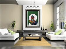 Karel Appel Large Embossed Carborundum Etching Hand Signed Sofa Oriental Artwork