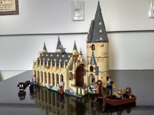 Harry Potter Hogwarts Castle Great Hall Building Blocks Bricks Set Magic Spells