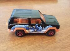 Matchbox Jeep Cherokee in Black ARMORED BATMAN Tampo New Loose from 3 Pack