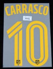 Atletico Madrid Carrasco 10 Football Shirt Name/Number Set Away 2016/17