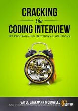 Cracking the Coding Interview, 6th Edition: 189 Programming Questions and
