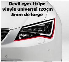 Devil Eyes Folie sticker Stripe universel 2x 120cm x 5mm