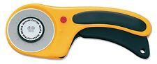 OLFA RTY-3/DX - Cúter rotativo con botón pulsador de bloqueo