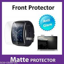 Samsung Gear S MATTE Anti Glare FRONT Screen Protector Military Shield