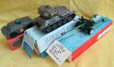 T34 WWII Tank USSR Military Scale 43 Model+BS3 Artil Gun+Scout Amphibia Car/Boxs