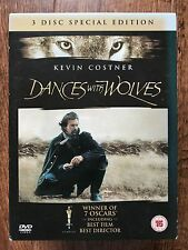 Dances With Wolves DVD Box Set Costner Western Classic Director's Cut 3-Discs