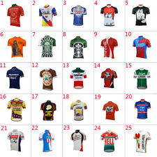 Mens Team Retro Cycling Jersey Cycling Short Sleeve Jersey bicycle Jerseys