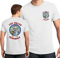 Los Pollos Hermanos T-shirt front back print Better Call Saul shirts S-4XL sizes