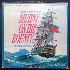 Rare deluxe boxset LP+book! Bronislau Kaper MUTINY ON BOUNTY soundtrack 1962 MGM