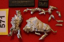 Games Workshop Warhammer Savage Orc Great Shaman on Warboar Mint New Metal GW