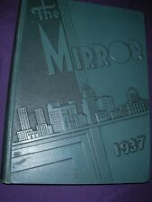 Manual Training High School HS 1937 Mirror yearbook year book Annual Peoria IL