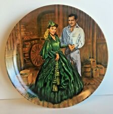 """""""Scarlett's Green Dress"""" Gone with the Wind 1984 Collector Plate"""