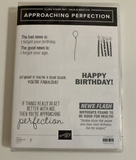 "STAMPIN' UP! ""APPROACHING PERFECTION"" STAMP SET"