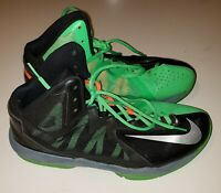 Nike Air Max Stutter Step 2 Black/Green 653455-007 Basketball Shoes Size 10
