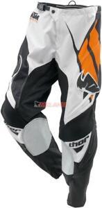 KTM Kids Hose: Phase, schwarz/weiß/orange