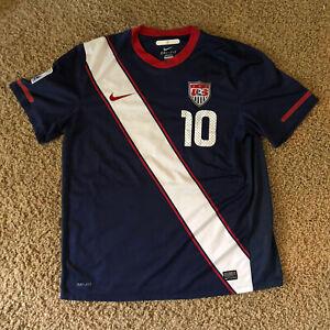 Landon Donovan Nike USA Jersey 2010 World Cup USMNT Rare Patch