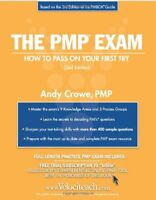 The Pmp Exam by Andy Crowe PMP