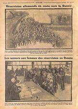 Feldgrauen Deutsches Heer in Russia Women Petrograd Saint-Peterbourg WWI 1914