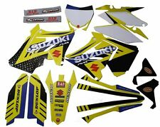 Suzuki Restyle graphics kit RM 125 250 2001 - 2008 Moto X Supercross Polisport