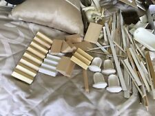 Dolls house job lot 1/12th scale building and other bits