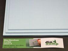 DioDump DD047-B Blue Styrofoam 4+5+6mm - styrodur diorama building materials
