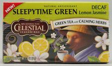 Sleepytime Decaf Lemon Jasmine Green Tea by Celestial Seasonings, Pack of 6