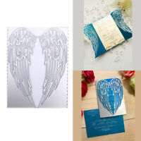 New Metal Wing Shape Cutting Die Scrapbooking Craft DIY Stamps Card Decorat Gy