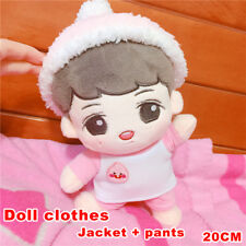 KPOP EXO Kakao Apeach T-shirt Pants Clothes Suit Handmade Not Included Plush