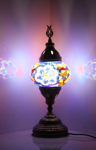 handmade  handmade  Mosaic Lamp Multicolor Flower