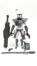 Star Wars TCW Clone Wars CW 52 Arc Trooper Clone Commander Colt Loose Complete