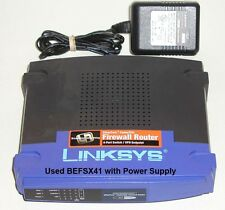 Linksys BEFSX41 EtherFast Wired Firewall Router 4-Port 10/100 VPN - Nice Used
